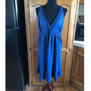 Old Navy Navy Blue Knit Dress Size XL